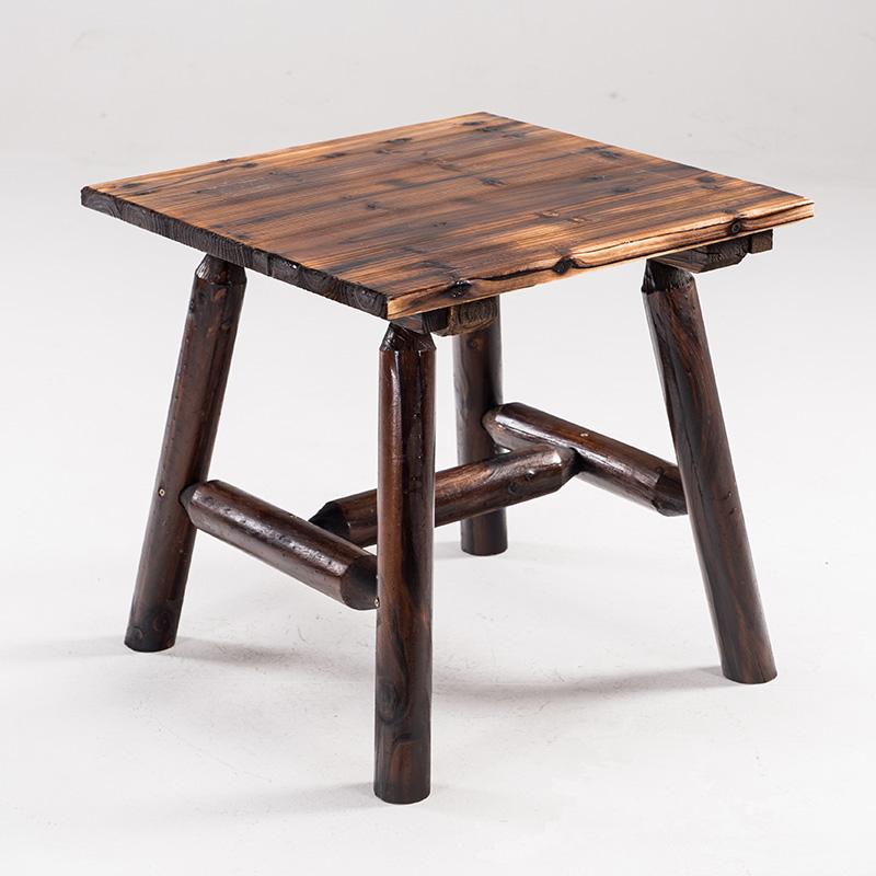 优友简约现代茶几实木客厅个性创意茶几时尚小桌子小户型茶桌中式