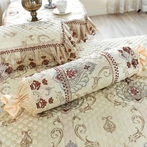 冰河 欧式沙发抱枕套靠垫腰垫套支持任意尺寸靠背套 飞叶裹花