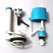 老式连体马桶配件坐便器顶按式水箱套装 包邮 侧扳前扳侧按