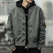 Autumn 2019 New Jacket Red Tide Pilot Jacket Korean Spring and Autumn Outerwear Chaos ins Baseball Suit