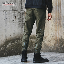 Boys'trousers, casual trousers, cargo, national tides, trousers, Korean version of fashion, all-in-one ins overalls, men's tips