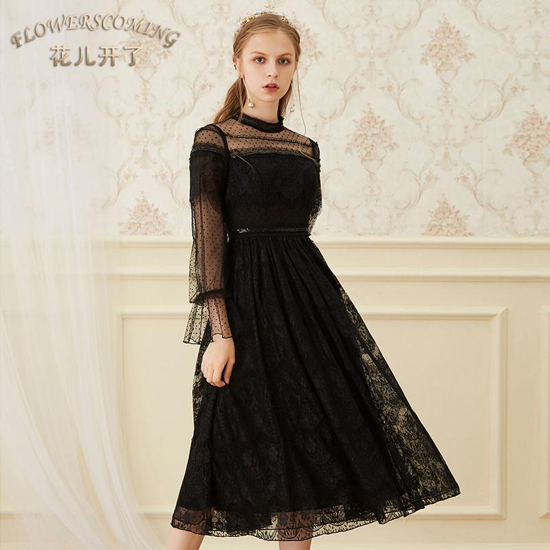 圆点公主裙子