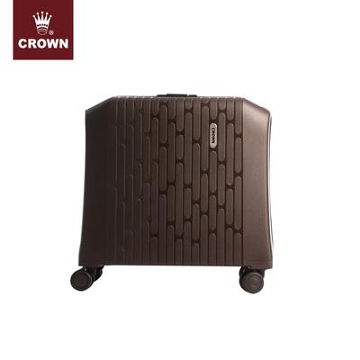 CROWN/皇冠PP登机箱 静音万向轮旅行箱 硬箱 轻便拉杆箱 PP11
