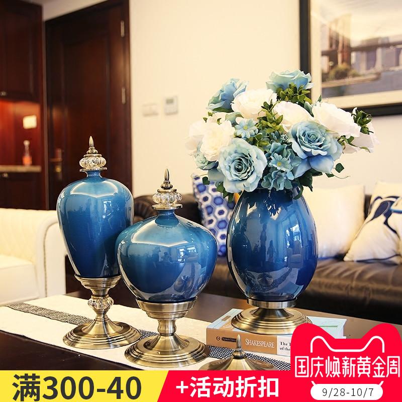 古典欧式花瓶花艺