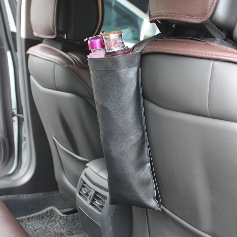 519汽车雨伞套 防水可折叠车用长短柄雨车用伞袋置物袋悬挂式收纳
