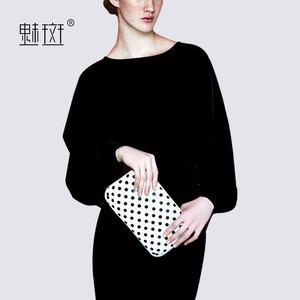 魅斑大码通勤连衣裙2018秋季新款女装中长款显瘦小黑裙一步裙