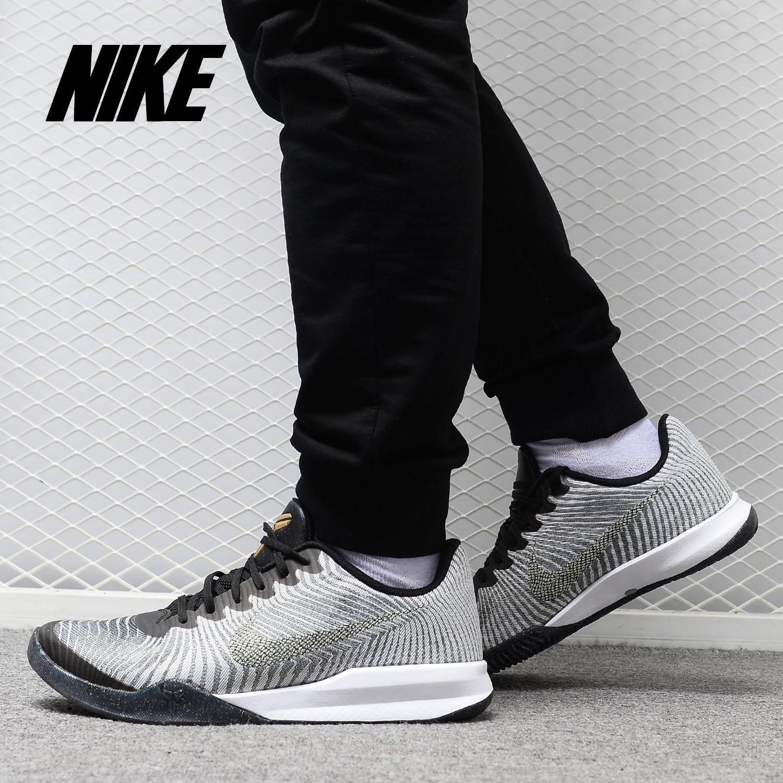 Nike/耐克正品ZOOM BOKE科比战靴简版2代低帮气垫篮球鞋818952