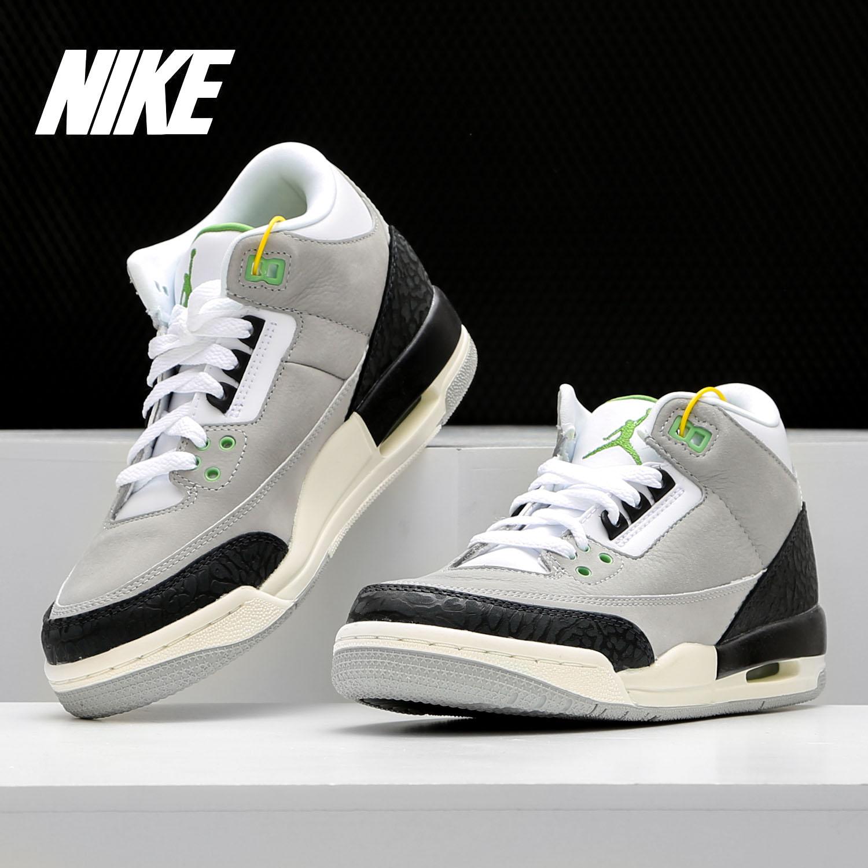 Nike/耐克正品Air Jordan3 AJ3独立日爆裂纹女子篮球鞋398614-020