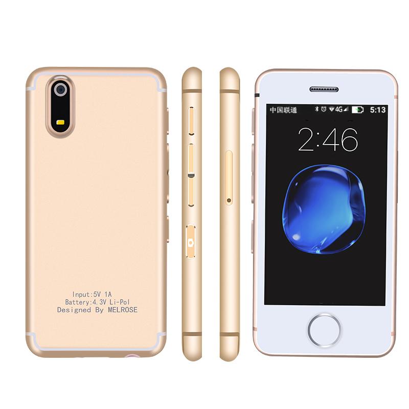 melrose s9新款超小超薄抖音同款智能机网红迷你袖珍全网通4G手机