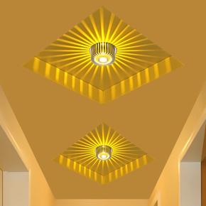 LED射灯过道灯走廊灯玄关灯客厅吊顶背景墙灯天花灯吧台灯饰灯具