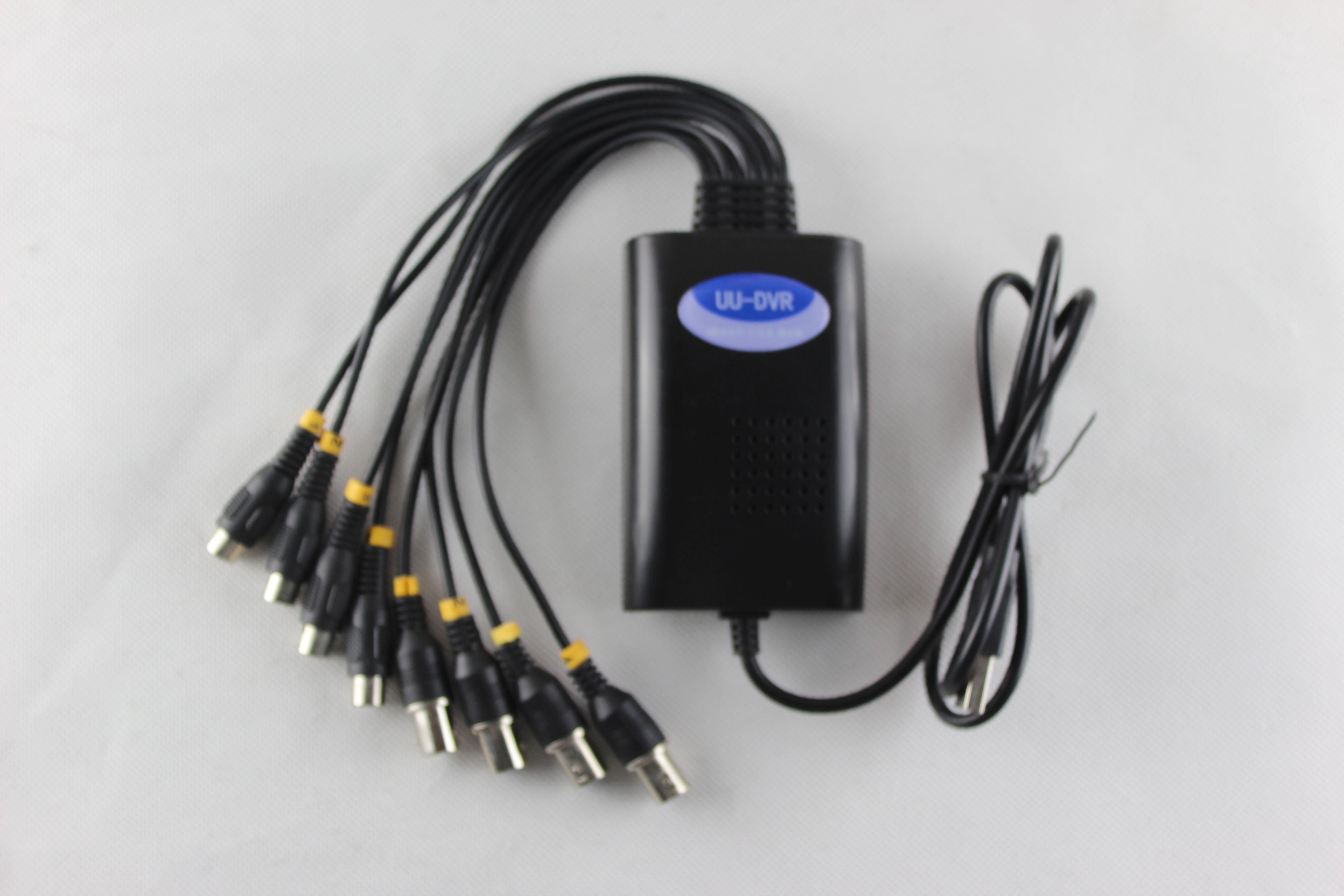 USB AHD 720P 4路 采集卡 智能快递柜视频监控