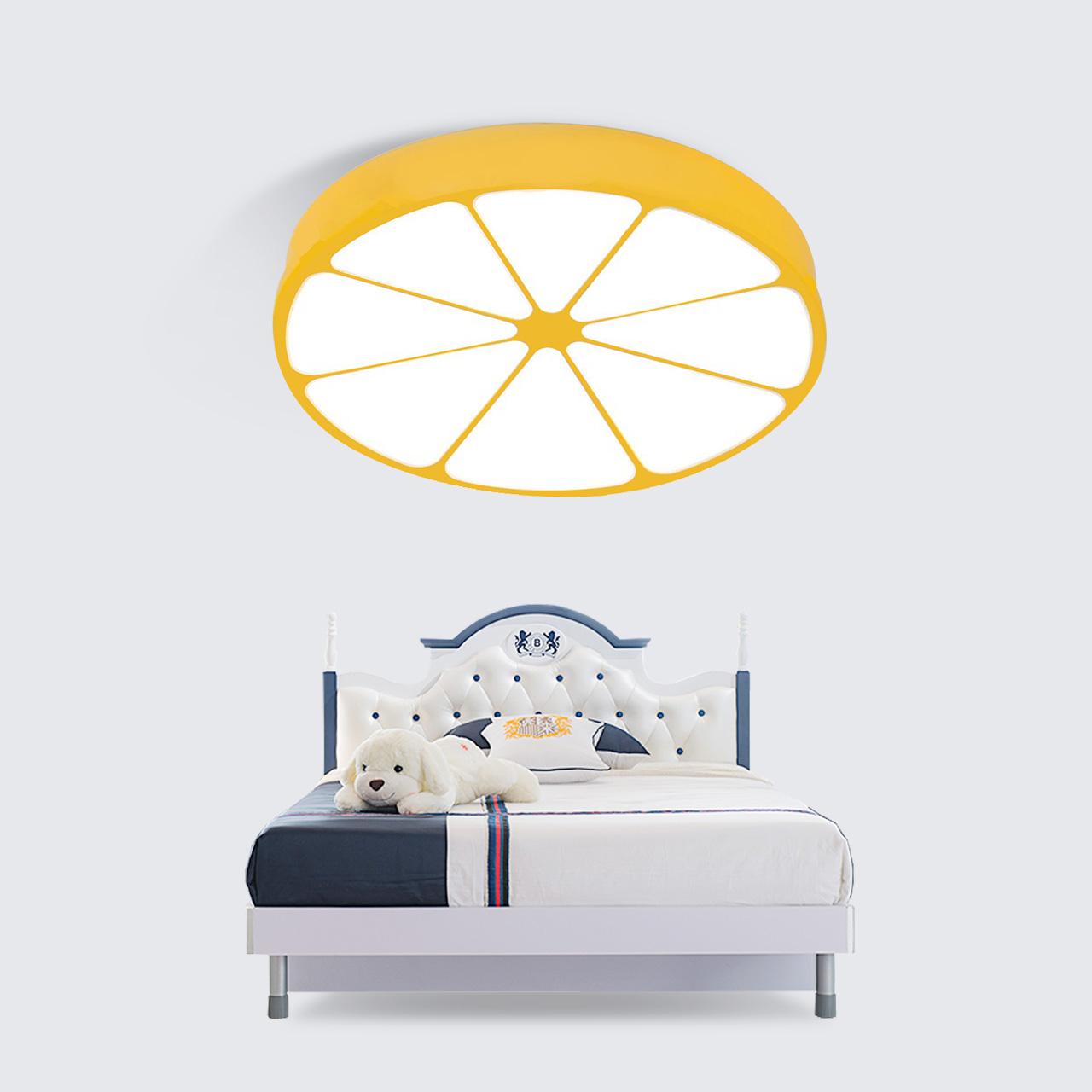 吸顶灯男孩女孩卧室灯简约现代卡通房间灯具 led 雷士照明儿童房灯