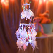 Indian Dreamcatcher hanging ornaments wind chimes girl heart Sensing dream net creative girls bedroom room decoration pendant