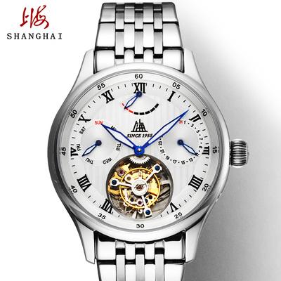 上海牌陀飞轮机械手表