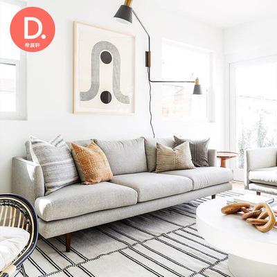 软沙发客厅现代简约评测