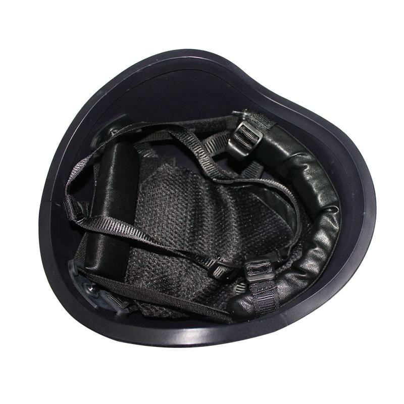 PE防弹头盔 凯夫拉防弹头盔战术安全帽勤务执勤巡逻盔