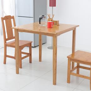 小方桌简约家用正方形飘窗茶几 4人吃饭矮桌子小户型四方餐桌实木