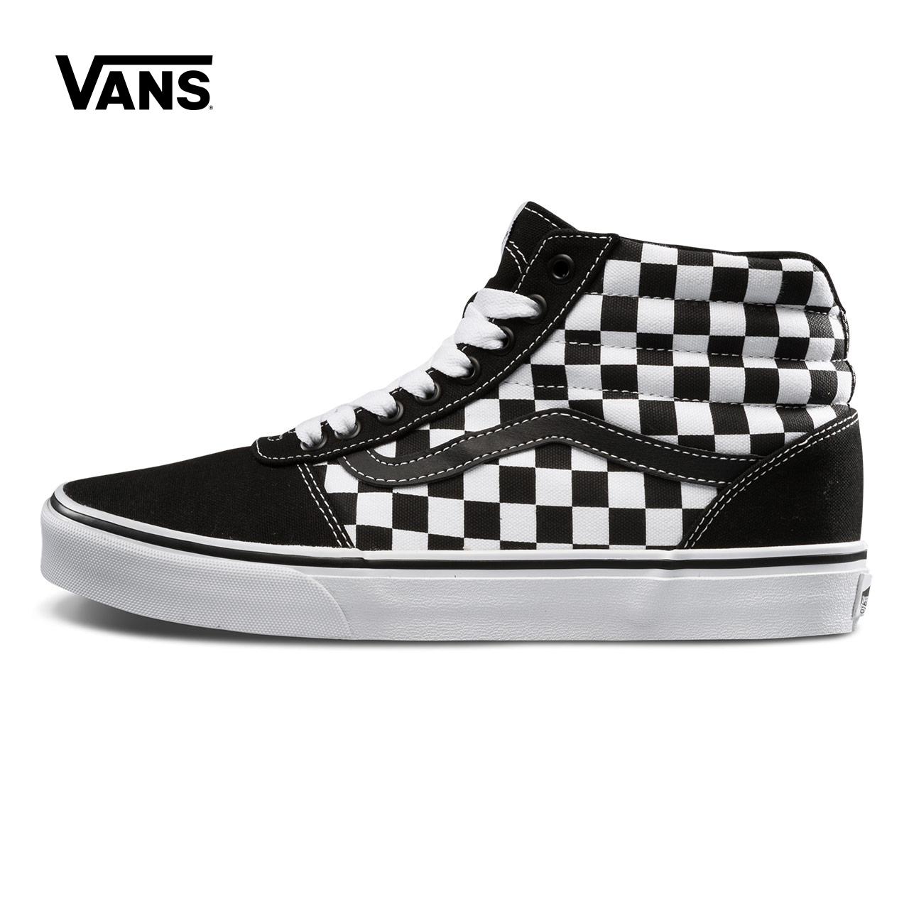 Vans/范斯秋季黑白棋盘格男款帆布鞋|VN0A38DN5GX