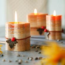 鸟与花家 洛伊斯浪漫无烟香熏蜡烛制造浪漫创意香氛蜡烛摆件3款选