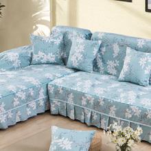 纯棉帆布全盖全包沙发布沙发套万能套罩现代盖布盖巾防尘四季通用