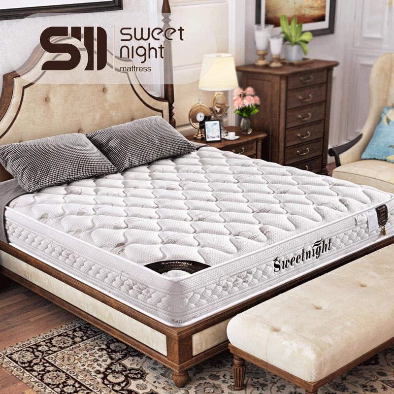 席梦思软硬椰棕弹簧床垫