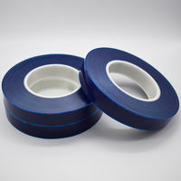Imported Japan Mitsui pe blue watch buckle strap special self-adhesive protective film blue clock 25mm wide promotion
