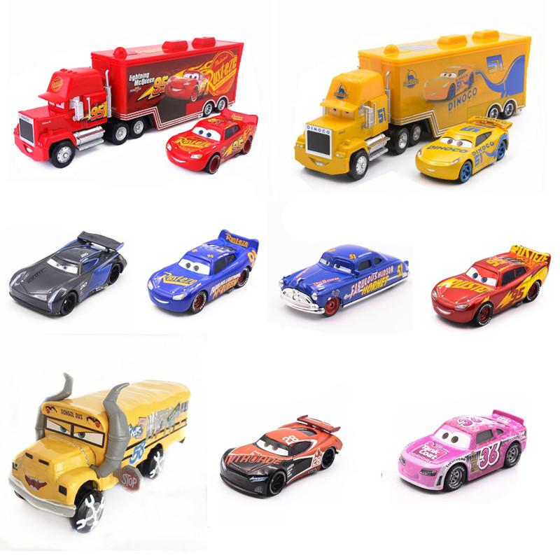 赛车总动员3儿童玩具车迪士尼合金小车闪电麦昆海外集运专拍