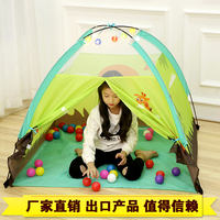 Children's tent indoor and outdoor toys play house princess baby play house girl folding big house ocean ball pool