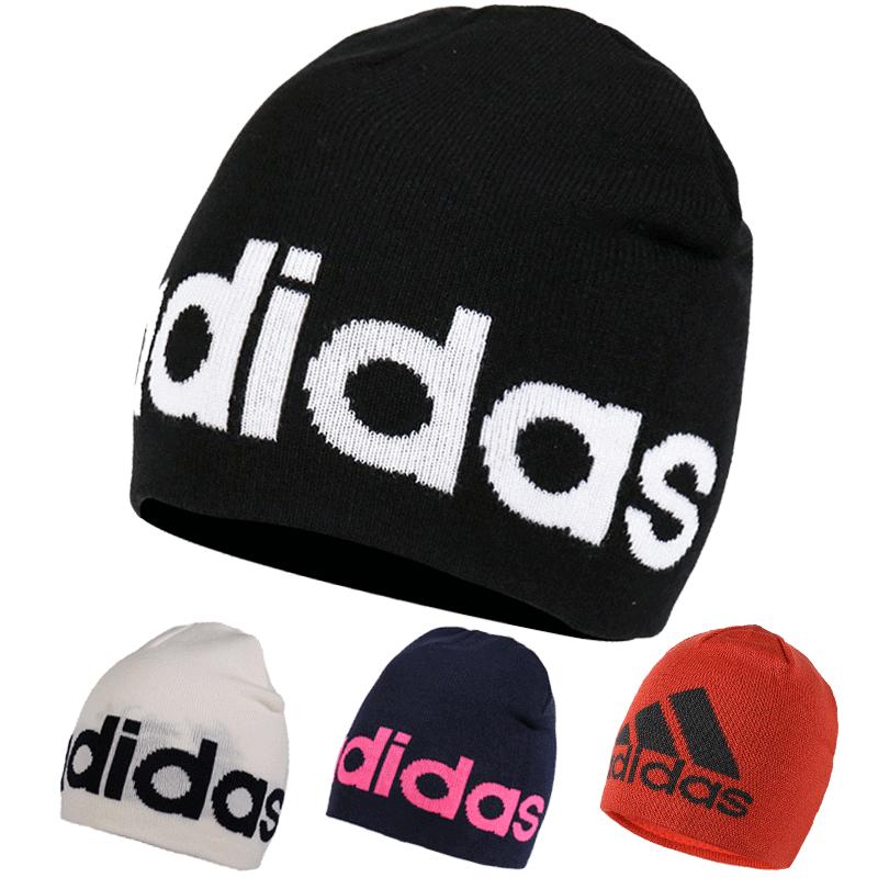 阿迪毛线帽子