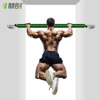 Door horizontal bar family pull-ups home double pole indoor wall free punching sporting goods fitness equipment