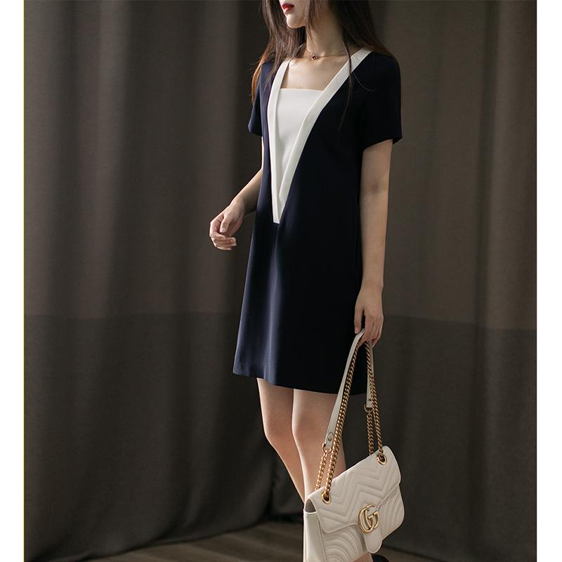 日系白连衣裙