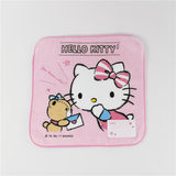Exported to Japan Pure cotton baby child Sanliou Kindergarten baby saliva towel 20*20 small square handkerchief
