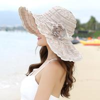 大檐帽夏季女沙滩