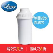 美国迪士尼滤水壶Disney净水壶孕童专属净水器家用除菌过滤器滤芯