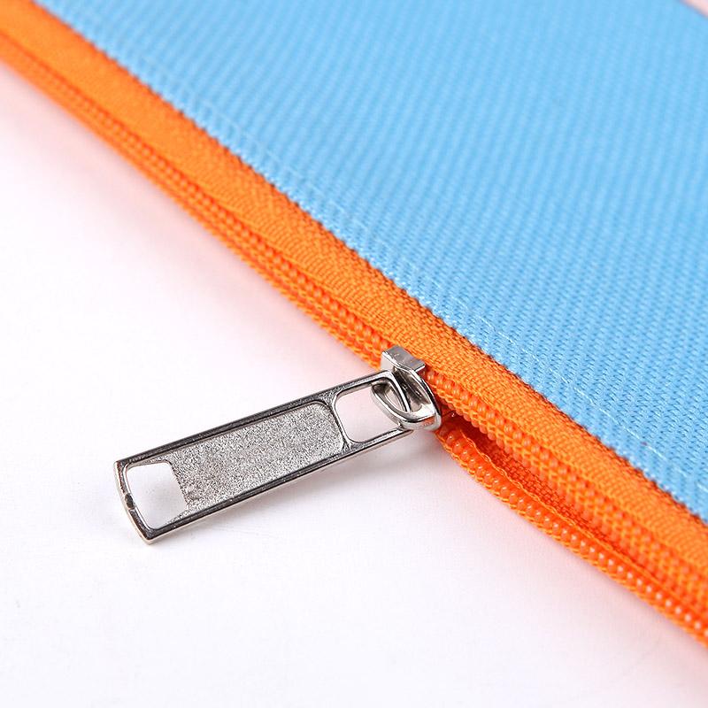 帆布文件袋小学生用手提袋科目袋学科分类收纳试卷子资料袋a4彩色