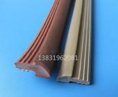 工厂直销 pvc玻璃外压塑料透明胶条 实木门缝条橡塑胶条玻璃压条图片