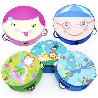 Netboy Qibei children's hand drummer tambourine rattle small instrument tambourine kindergarten teacher with performance tambourine