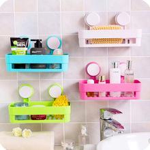 强力吸盘浴室置物架卫生间壁挂浴室角架无痕厕所厨房浴室置物架
