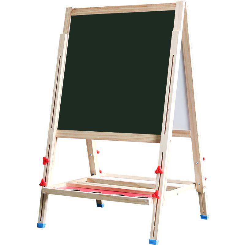 儿童小黑板墙支架式彩色涂鸦家用无粉尘幼儿园写字板磁性无尘画板