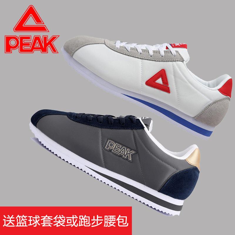 匹克阿甘鞋男鞋 透气运动鞋男情侣鞋小白鞋休闲鞋子板鞋 跑步鞋