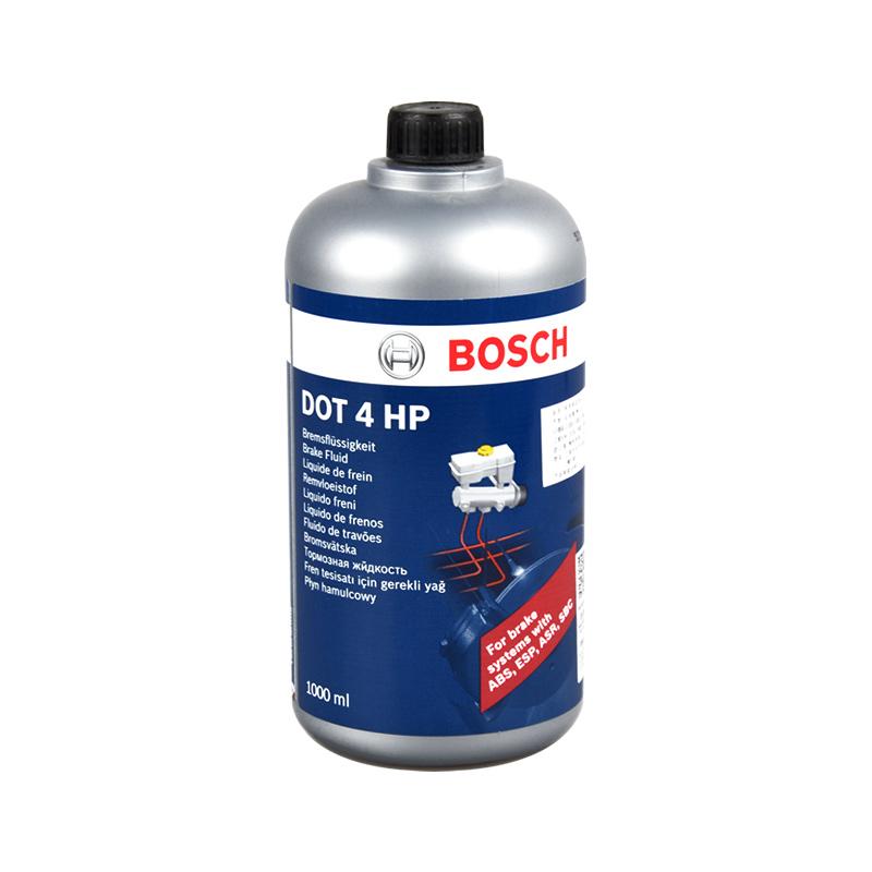 博世刹车油 制动液离合器油通用DOT4HP 1L装汽车合成刹车油制动液