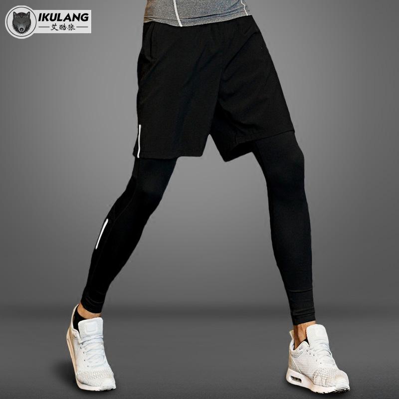 运动紧身裤男弹力健身篮球
