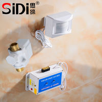 Thinking about the tunnel toilet induction water saving school public toilet urinal sensor water tank automatic flusher