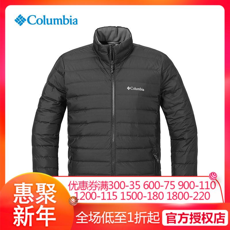 KM 18秋冬新品Columbia哥伦比亚男户外防泼水650蓬羽绒服PM5567