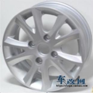 14寸铝合金改装轮毂胎铃原装轮毂4*114.3 适用安装汽车:凯越