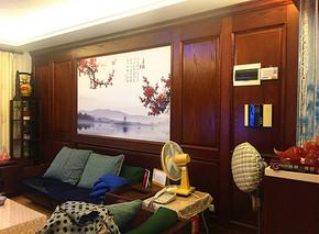 电视机实木背景墙定制欧式护墙板沙发背景墙装饰板全屋家具定制