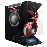 Disney marvel iron man RGB headset with music headset