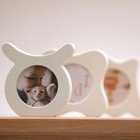 时代良品12星座相架相框摆台创意送礼情侣朋友家居造型树脂符号