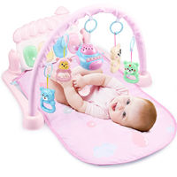 Baby foot piano fitness rack 3-6-12 months puzzle newborn baby toys 0-1 years old boys and girls