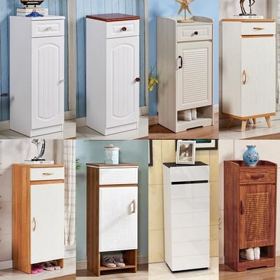 门口省空间小号立式单门简易小户型迷你小型窄高40cm宽门厅柜鞋柜